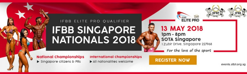 IFBB Singapore Nationals 2018