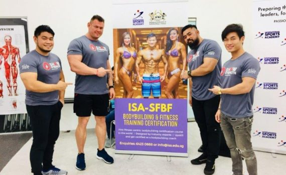 ISA-SFBF Bodybuilding and Fitness Training Certification