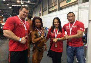 From Left - Alex Betts, Joan Liew, Excell Chua and Augustine Lee