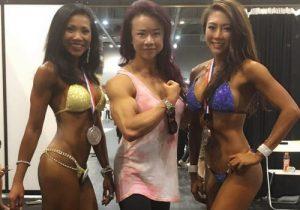 Ziela Eriksen, Joan Liew and Shontel Chow